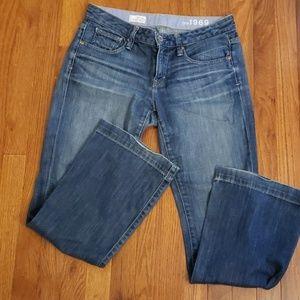Gap Long & Lean Jean's 27